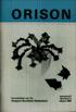 Orison 1989-2