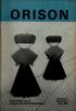 Orison 1989-3